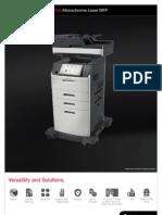 Midshire Business Systems - Lexmark XM5100 - Monochrome Laser MFP Brochure