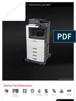 Midshire Business Systems - Lexmark XM7100 -  Monochrome Laser MFP Brochure