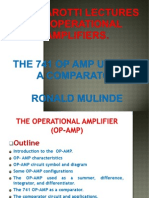 Lectures on Operational Amplifiers