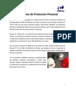 certificacion de EPP