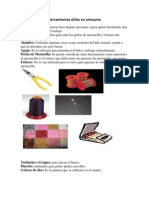 Herramientas útiles en artesanía