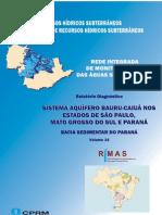 VOLUME 14 Sistema Aquifero Bauru Caiua SP PR MS