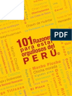 101 Razones Para Estar Orgullosos Del Peru - NO COPYRIGHT INFRINGEMENT INTENDED