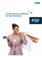 Card Acceptance Guidelines for Visa Merchants