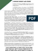Dswd Press Release