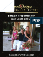 Bargain Properties for Sale Costa Del Sol | September 2013 - 02