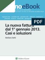 La nuova fattura dal 1° gennaio 2013 casi e soluzioni