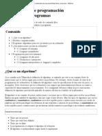 Fundamentos de programación_Algoritmos y programas - Wikilibros