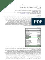 """מדריך לניהול תקציב התקורה במלכ""""רים"""
