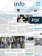 Stadtinfo Aalen - KW 32 - 2013
