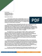 Eva Moskowitz letter to Arne Duncan