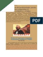 Crítica Marxista Leninista - La Dictadura del Proletariado