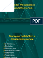 Tema 19 Sindrome Metabolico Insulinorresistencia