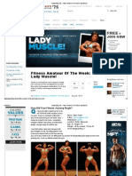 Lady Muscle Fitness Amateur of the Week