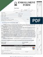 Studio D Enrollment Form[1]