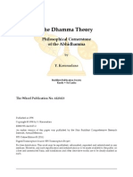 Dhamma Theory