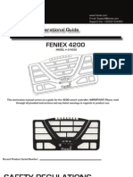 Feniex 4200 Controller Instruction Manual V2