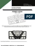 Feniex 4200 Controller Instruction Manual V2