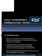 8251A USART - Programmable Communication Interface(1)