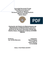 Informe Norma 2500-93