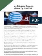 DEA Has More Extensive Domestic Phone Surveillance Op Than NSA