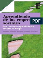 153866457 Aprendiendo de Las Empresas Sociales 6 Casos en Europa 120315011929 Phpapp01