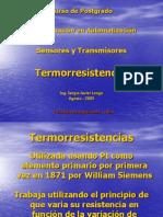 Sensores de Temperatura Termorresistencias Ago 05