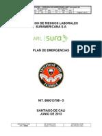 Plan de Emergencias Unilibre 2013