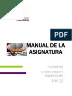 Avance Programatico Electricidad y Magnetismo (UPP)
