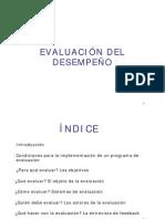 evaluacion  de desempeño