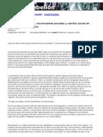 Rauber Isabel - 2 1 Gobiernos Populares, Movimientos Sociales y Cambio Social en Indo-Afro-la