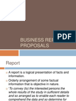 1 Reports & Proposals