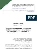 Movimientos indígenas campesinos