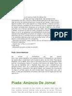 Piadas+ +Jornal
