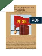 Crítica Marxista Leninista - Partido del Proletariado