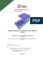 Projeto de Estruturas e Fundações de um edifício de Serviços