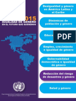 PNUD. Reducción del riesgo de desastres y género