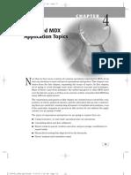 Advanced MDX Application Topic
