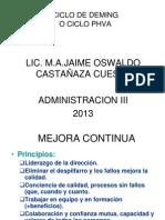6 CICLO PDCA 2013 (2)