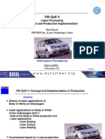 05 - VW Golf v- Laser Processing Concept and Production Impementation