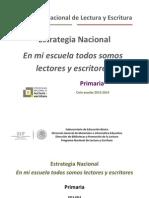 Estrategia 2013-2014 Primaria