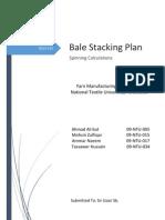 Bale Stacking Plan