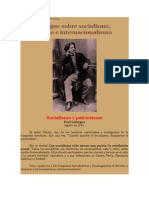 Crítica Marxista Leninista - Paul Lafargue Sobre Socialismo, patriotismo e Internacionalismo