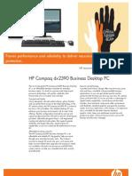 HP DX2390 Series