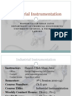 Industrial Instrumentation Lec 01