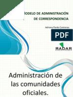 Modelo de administración de correspondencia