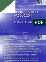Estrategia Administrativa