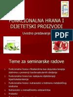 Funkcionalna Hrana, Nutraceutici (1. Predavanje)(1)