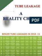 Boiler Tube leakage