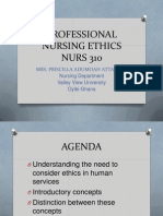 Professional Nursing Ethics Nurs 310